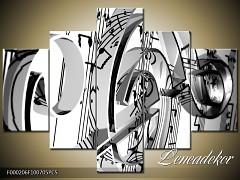 Obraz na zeď-hudba-5D F000206