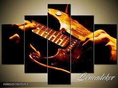 Obraz na zeď-hudba-5D F000501