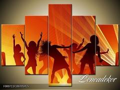 Obraz na zeď-hudba-5D F000711