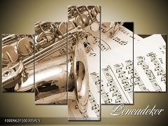Obraz na zeď-hudba-5D F000962