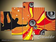 Obraz na zeď-hudba-5D F001603