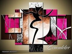 Obraz na zeď-abstrakce-5D F003458