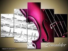 Obraz na zeď-hudba-5D F002077