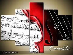 Obraz na zeď-hudba-5D F002078