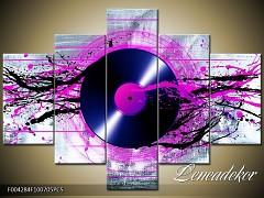 Obraz na zeď-hudba-5D F004284