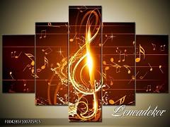 Obraz na zeď-hudba-5D F004285