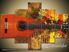 Obraz na zeď-hudba-5D F004287
