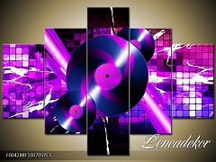 Obraz na zeď-hudba-5D F004288