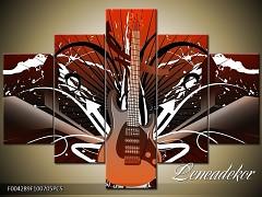 Obraz na zeď-hudba-5D F004289